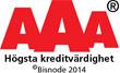 AAA credit logo